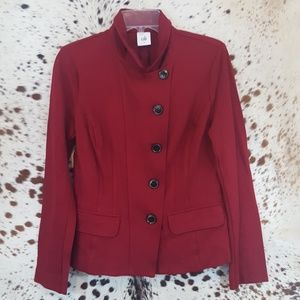 Cabi Red Jacket Sz 6
